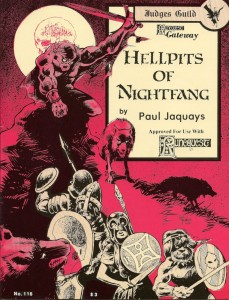 Hellpits of Nightfang - Jennell Jaquays