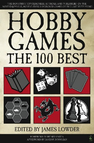 Hobby Games: The 100 Best - Front Cover