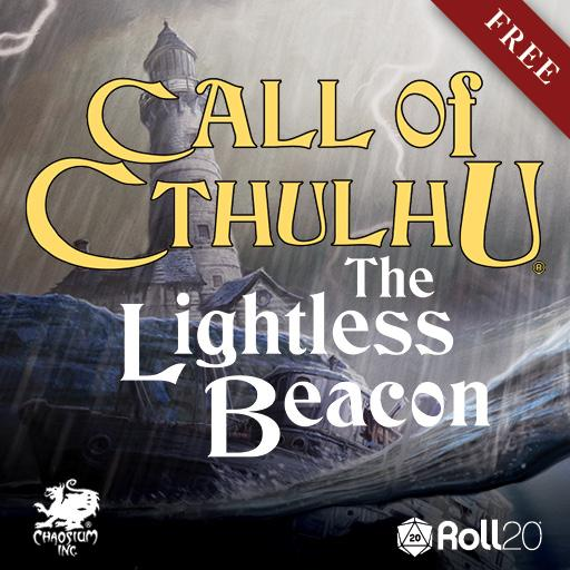 Call of Cthulhu's The Lightless Beacon on Roll20