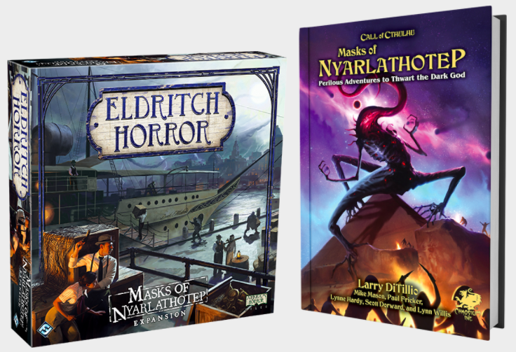 Masks from FFG and Chaosium