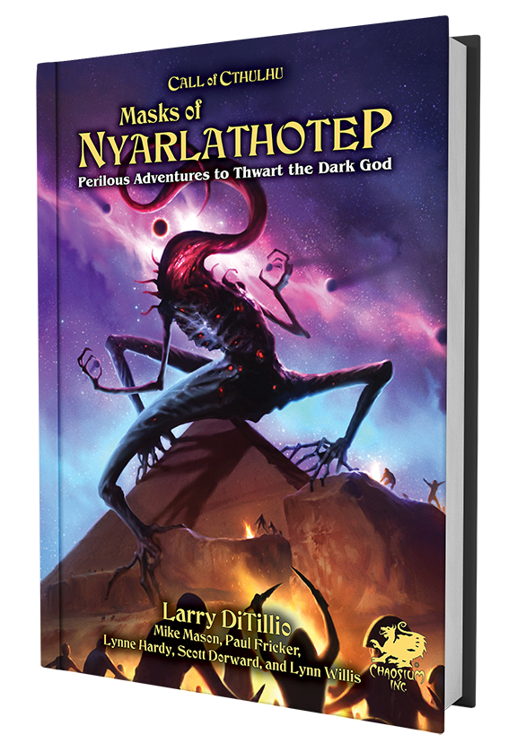 Masks of Nylarthotep Mockup