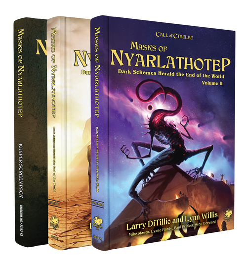 Masks of Nyarlathotep Slipcase Set