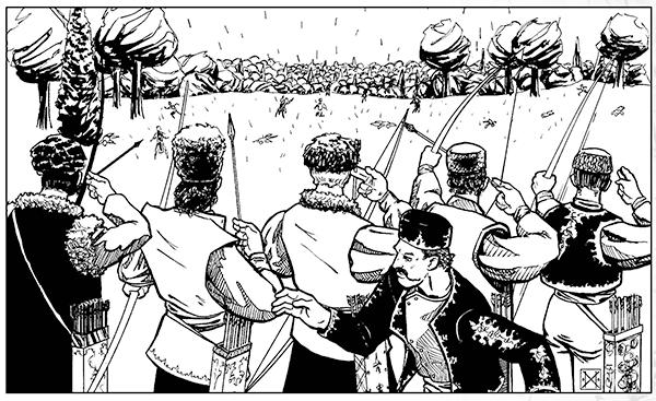 Ussura - Battle