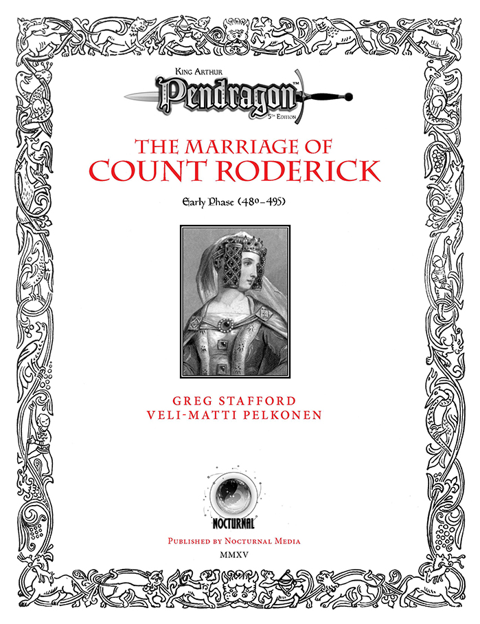 Pendragon Adventure Cover