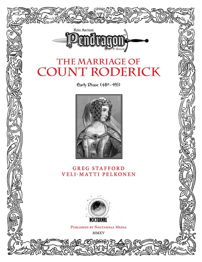 Pendragon Adventure Cover