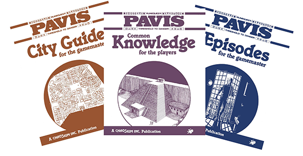 Pavis Book Covers