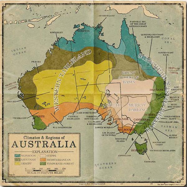 Regions of Australia