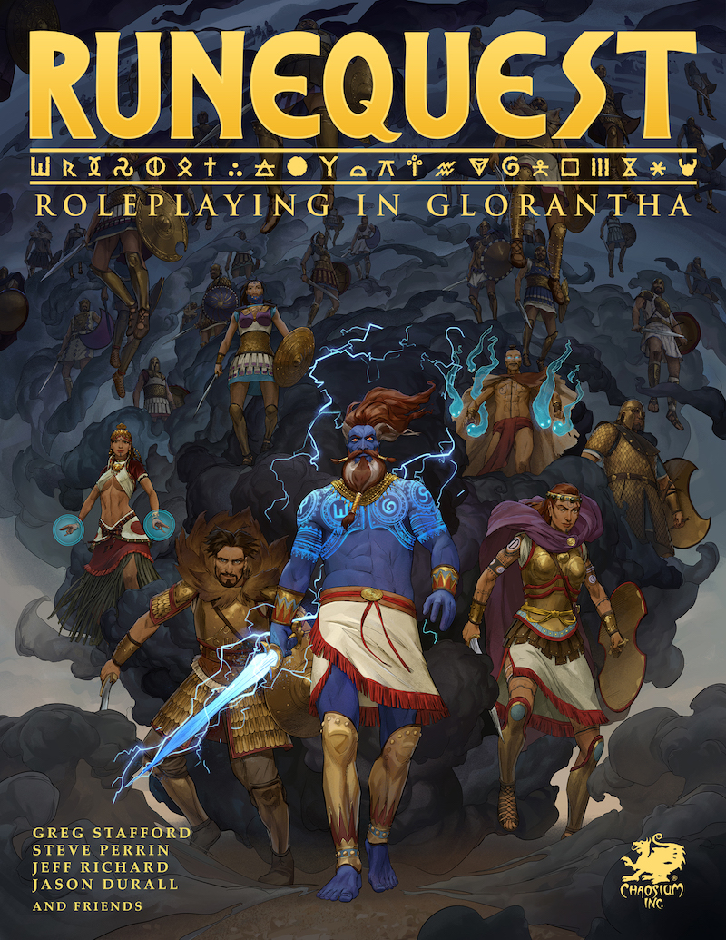 RuneQuest: Roleplaying in Glorantha - cover