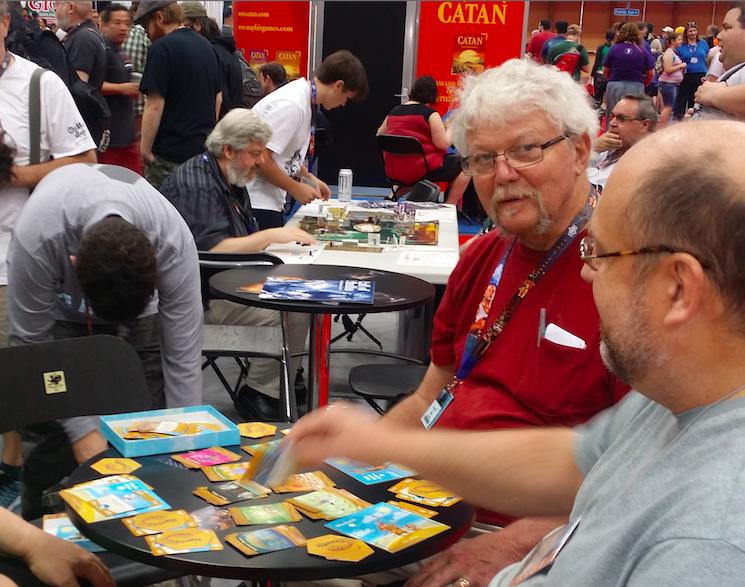 Grand Shaman of Games' demos Chaosium's new family game Khan