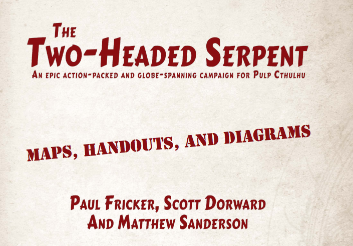 Free Downloadable Resources for The Two-Headed Serpent