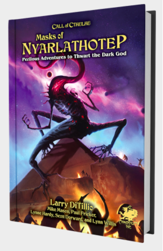 Masks of Nyalathotep Cover
