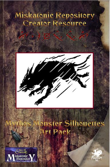 Miskatonic Repository Mythos Monster Silhouettes Art Pack