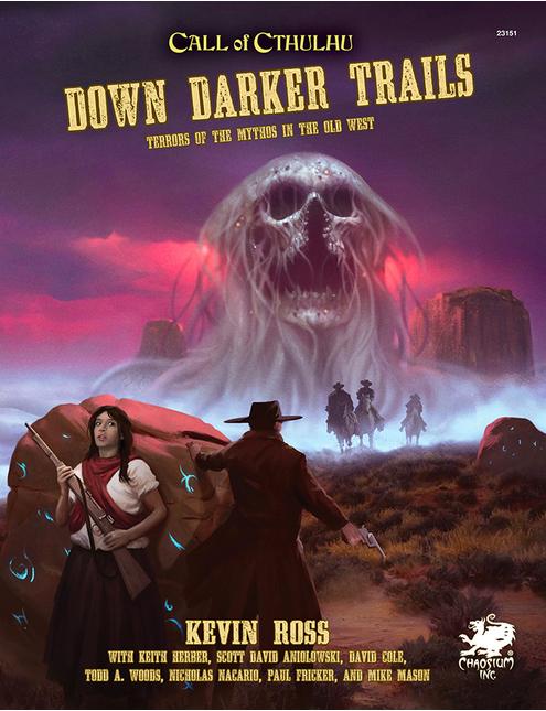 Down Darker Trails cover