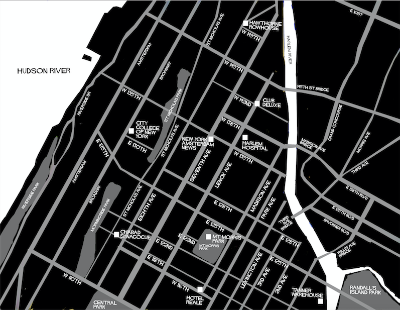 Harlem (K)nights Keeper Map by Alex Mayo