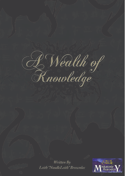 A Wealth of Knowledge - Misk R