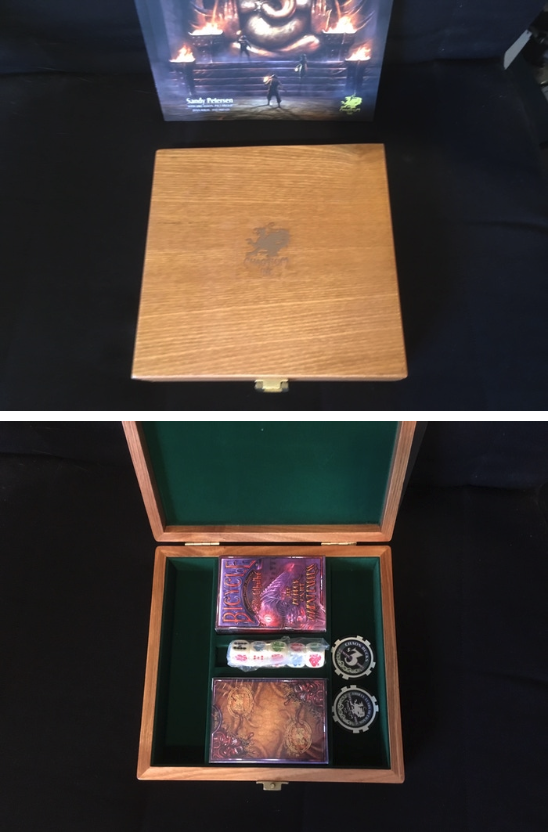 Clandestine Game Case Poker Set from HotOE