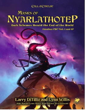 Masks of Nyarlathotep Slipcase Set