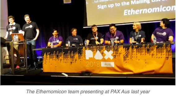 Ethernomicon team