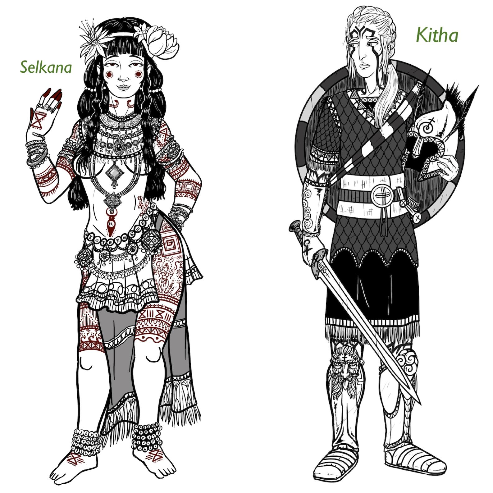 Selkana & Kitha by Kalin Kadiev