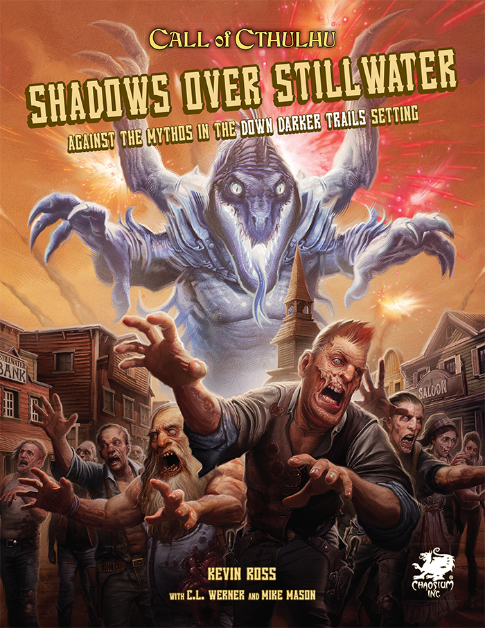 Shadows over Stillwater - Front Cover
