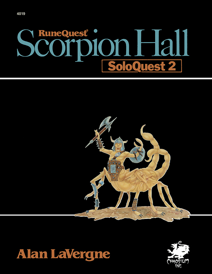 Scorpion Hall Cover