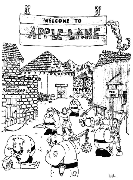 Welcome to Apple Lane
