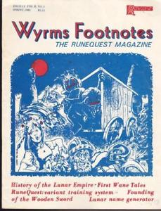 Wyrms Footnotes #11
