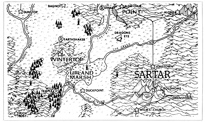 Map of Sartar