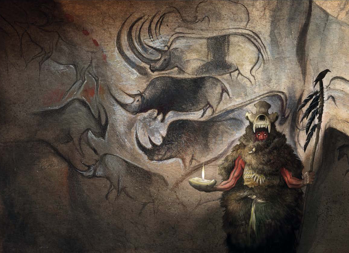 Cave Drawing 1