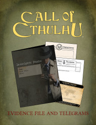 Call of Cthulhu 7th edition Evidence File & Telegrams PDF.