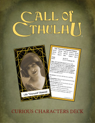 Curious Characters Call of Cthulhu Keeper Deck PDF