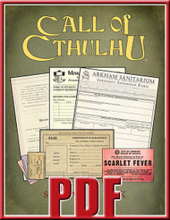 Sanitarium Miskatonic University and Arkham forms bundle.