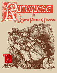 RuneQuest 1st Edition - Front Cover