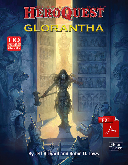 HeroQuest Glorantha - Front Cover