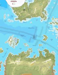 "ISS2005-24P - 24 Map Set of Glorantha (12"" x 18"")"