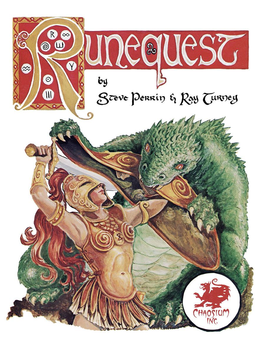 RuneQuest Classic Hardcover