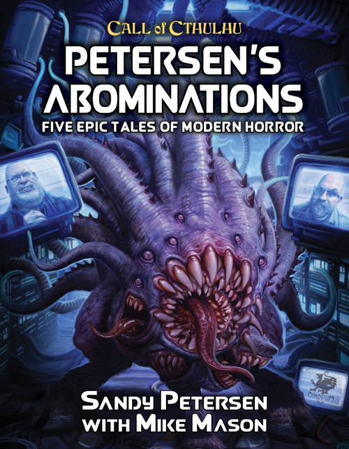 Petersen's Abominations - Front Cover