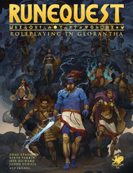 RuneQuest: Roleplaying in Glorantha Cover