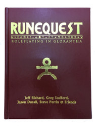 RuneQuest Roleplaying in Glorantha - Leatherette Cover
