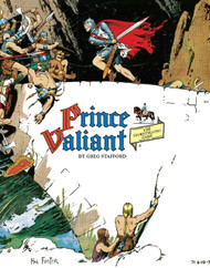 Prince Valiant Rule Book - Front Cover