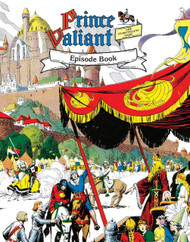 Prince Valiant Episode Book - Front Cover