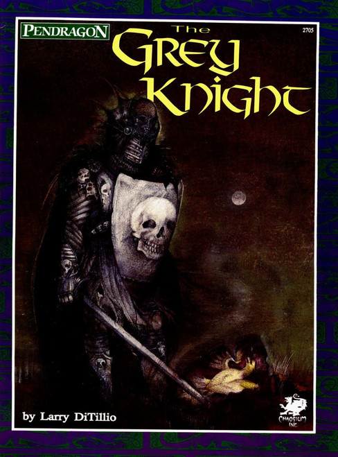 The Grey Knight - Front Cover