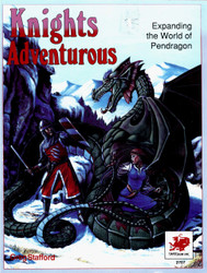 Knights Adventurous - Front Cover