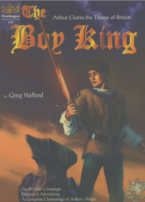 The Boy King - 2nd Edition - Front Cover