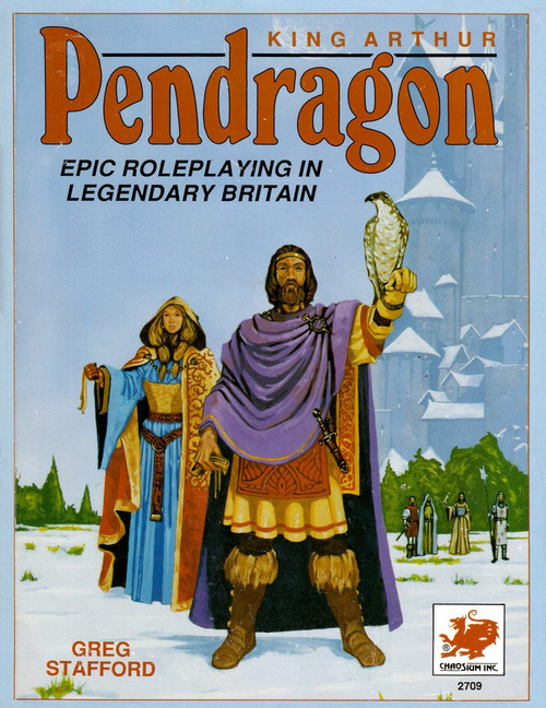 King Arthur Pendragon - 3rd Edition - Front Cover