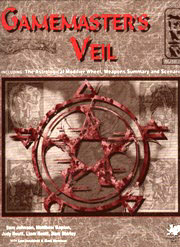 Nephilim Gamemasters Veil - Front Cover