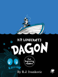 H. P. Lovecraft's Dagon - Front Cover