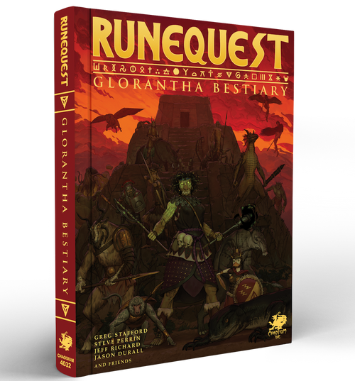 RuneQuest : Glorantha Bestiary - Side View