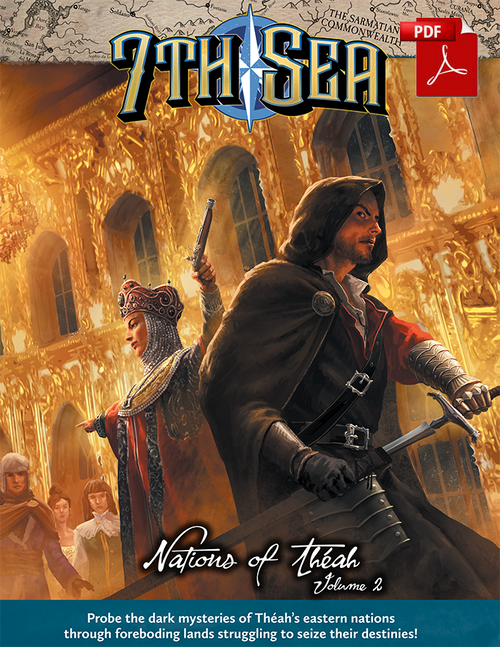 Nations of Theah - Vol 2 - Front Cover