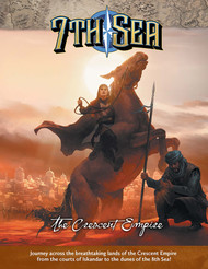 7th Sea - Crescent Empire - Front Cover